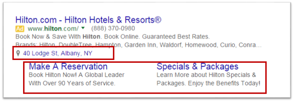 ad extensions, google adwords