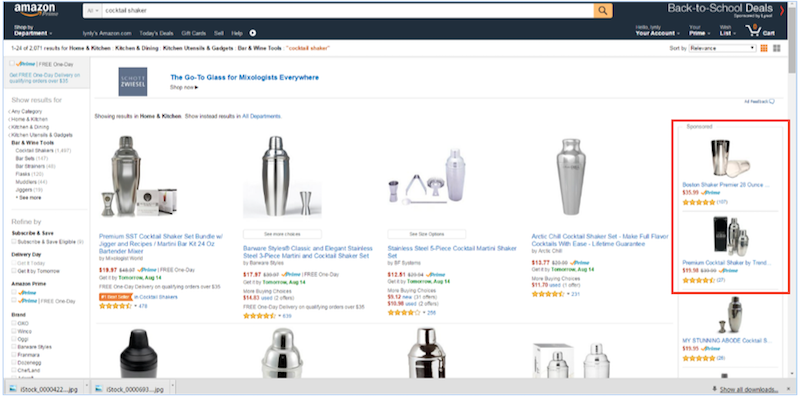 Amazon Product Ad Screenshot 2
