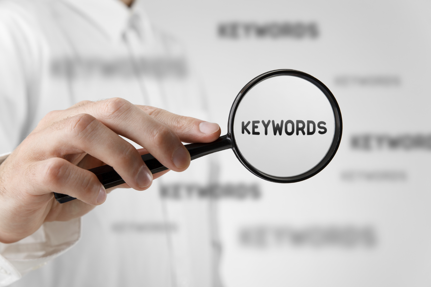search, keywords, magnifying glass