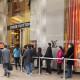Black friday, shopping, queues